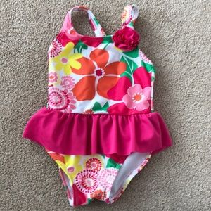 FREE baby girl swimsuit Gymboree